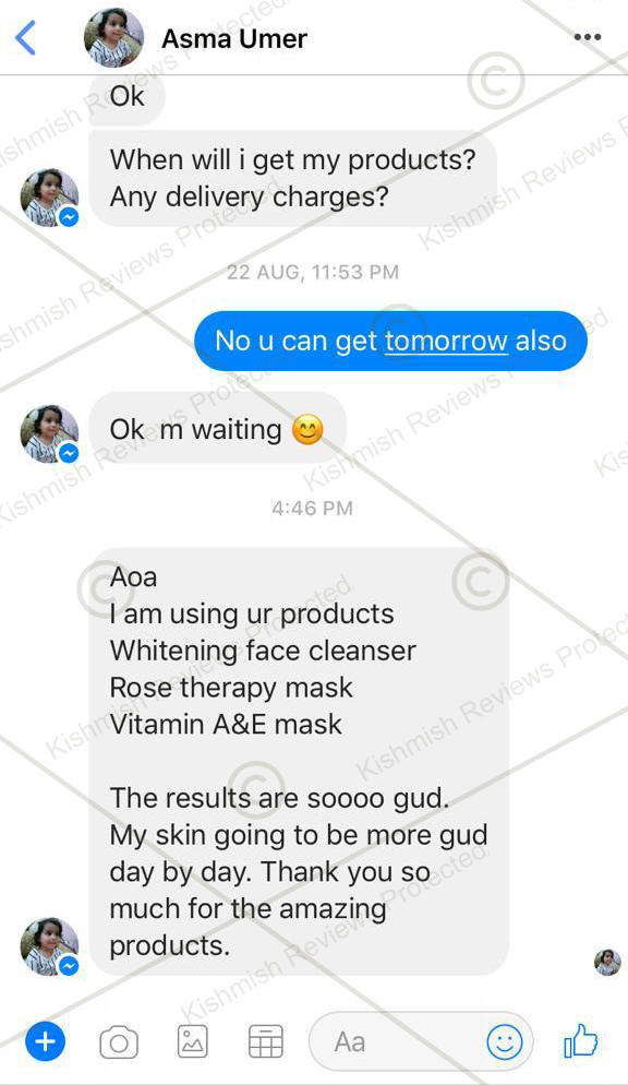 Vitamin A and E Mask