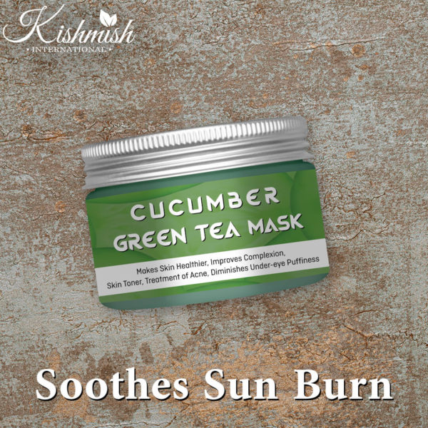 Cucumber & Green Tea Mask