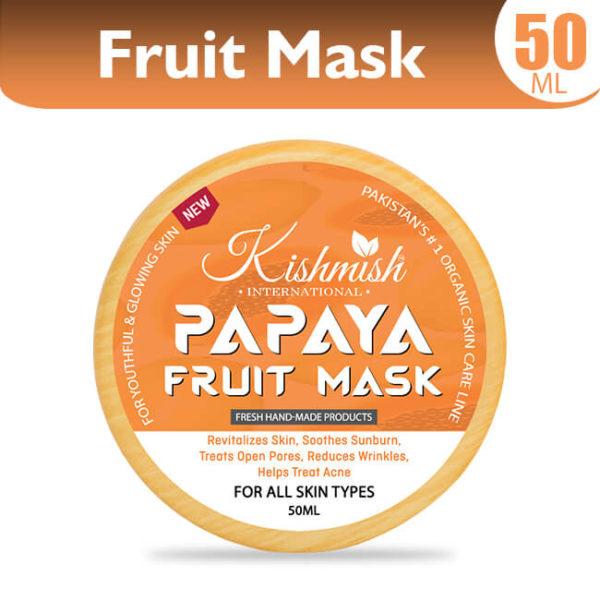 Papaya Fruit Mask