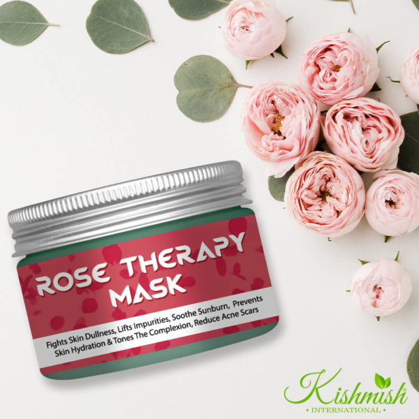 Rose Therapy Mask