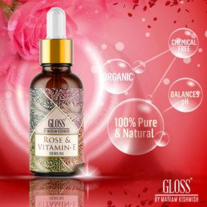 Rose & Vitamin E Serum