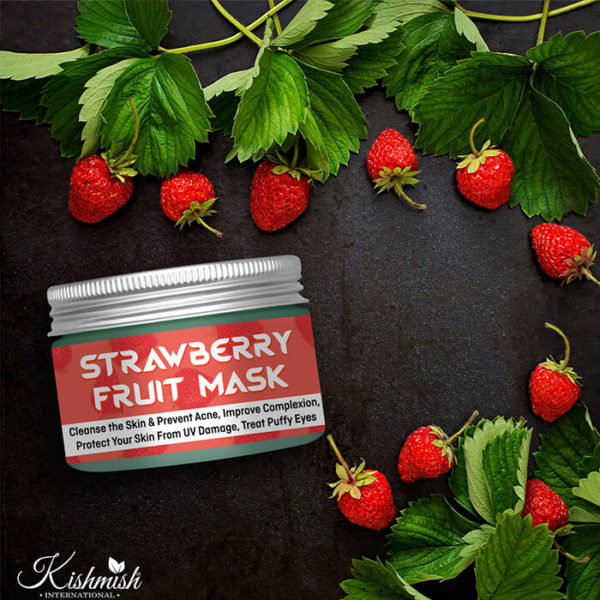 STRAWBERRY FRUIT MASK