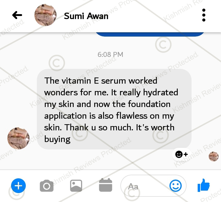 Rose & Vitamin E Serum
