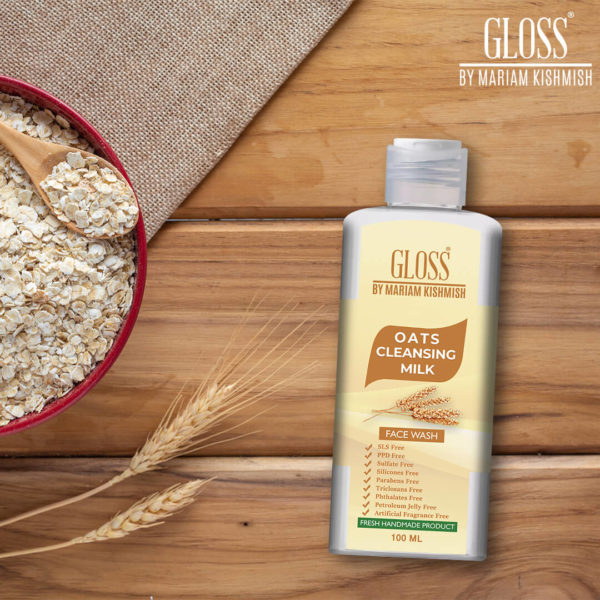 Oats Cleansing Milk